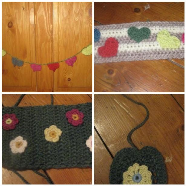 Yarn bomb mosaic