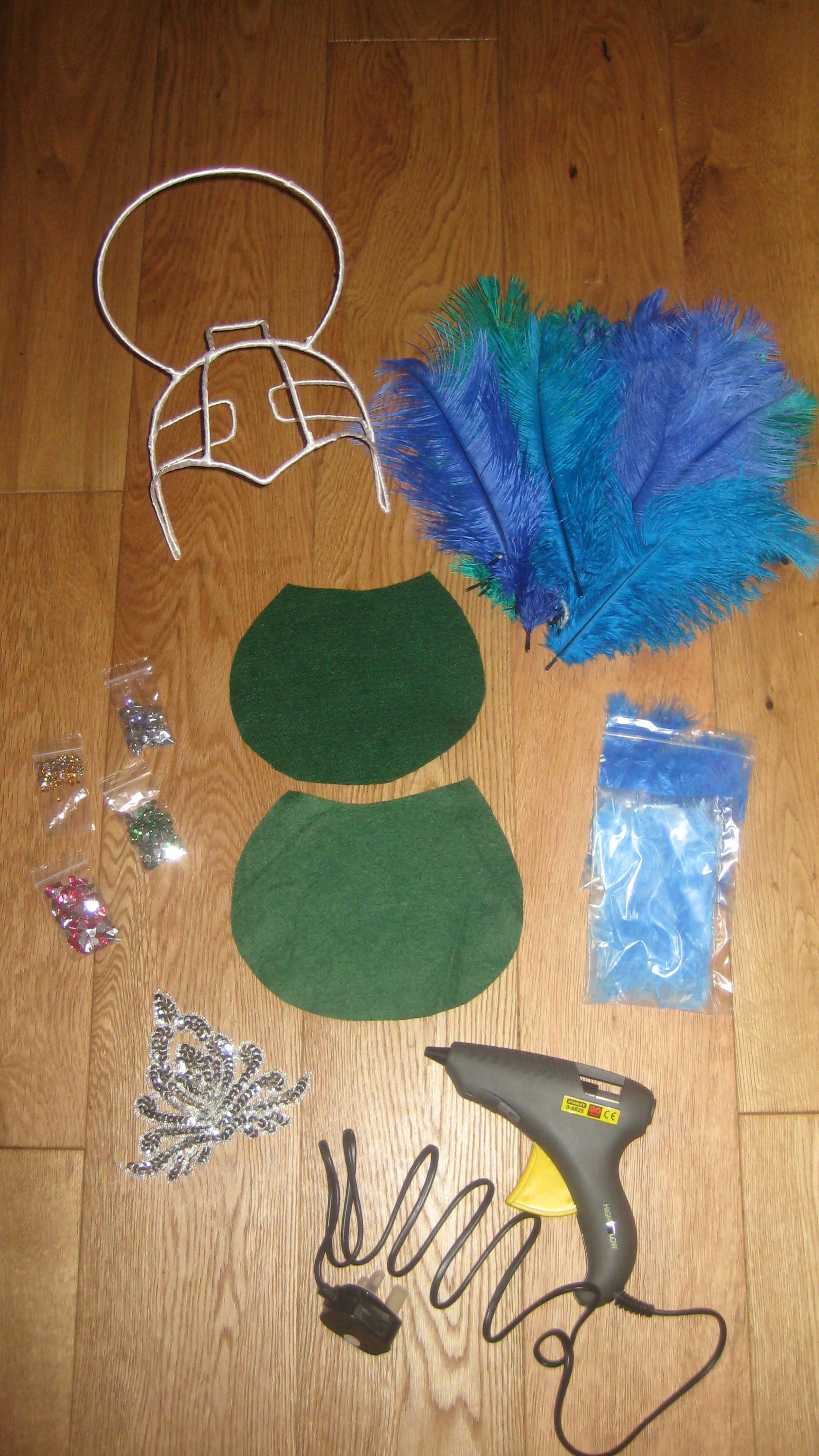 The story so far....samba headdress tutorial - Craftylilmama